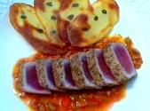 Provencal-style Tuna Tataki